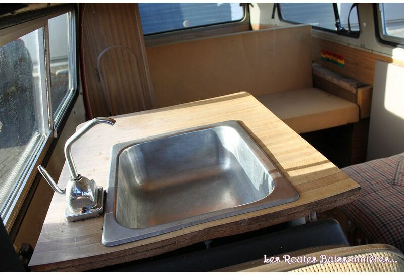 VW Combi Bay Window Riviera 1974
