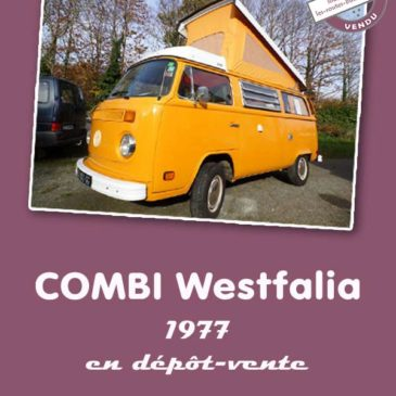 Combi Westfalia T2B 1977, 2L injection – Vendu !