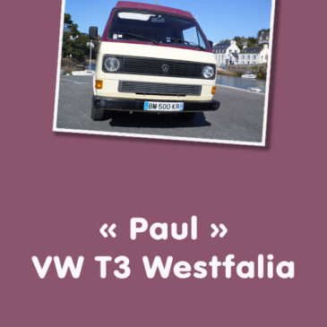 """Paul"" VW T3 Westfalia"